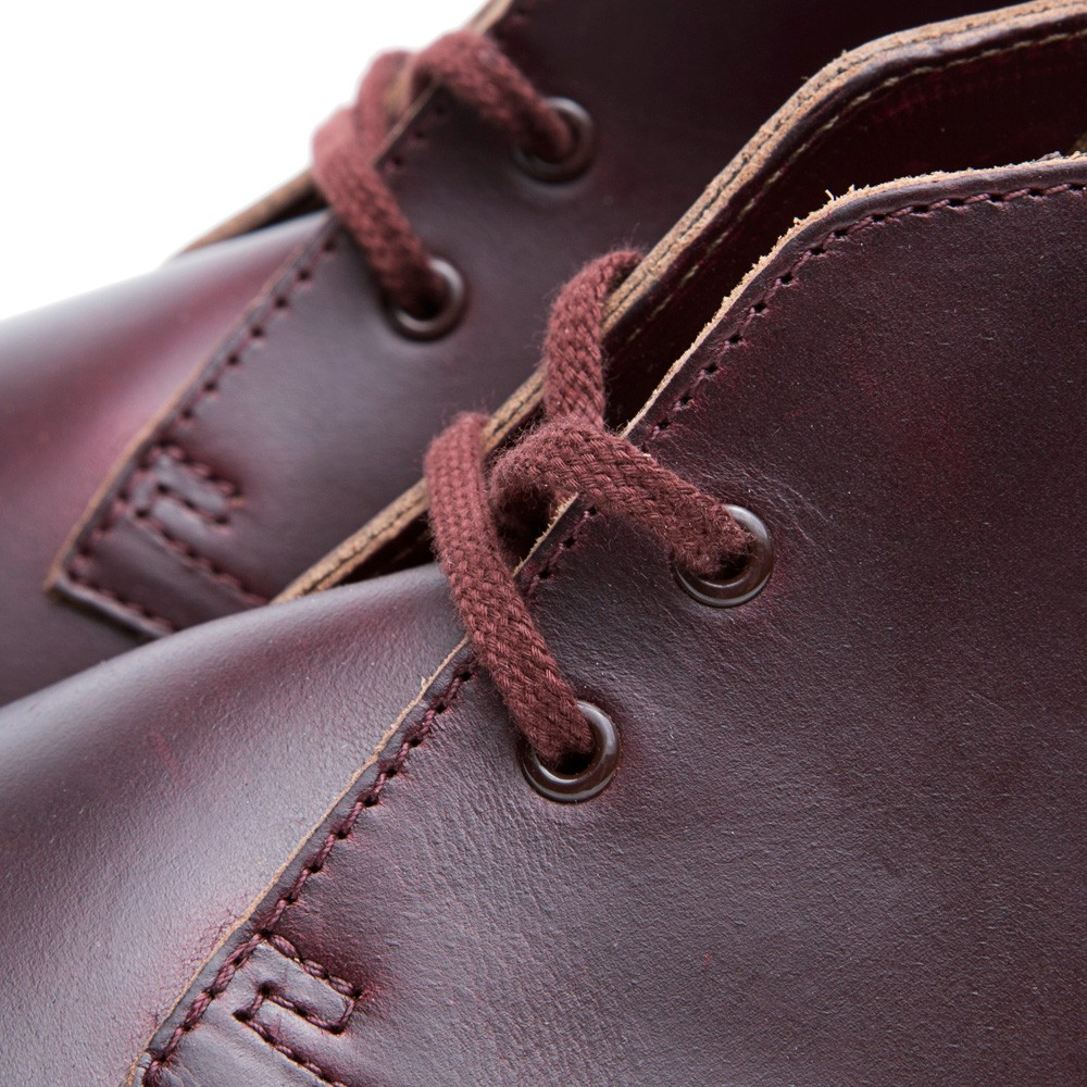 25 07 2013 clarks horweenleathercompanydesert burgundy 4 1 Clarks Originals x Horween Leather Company Desert Boot