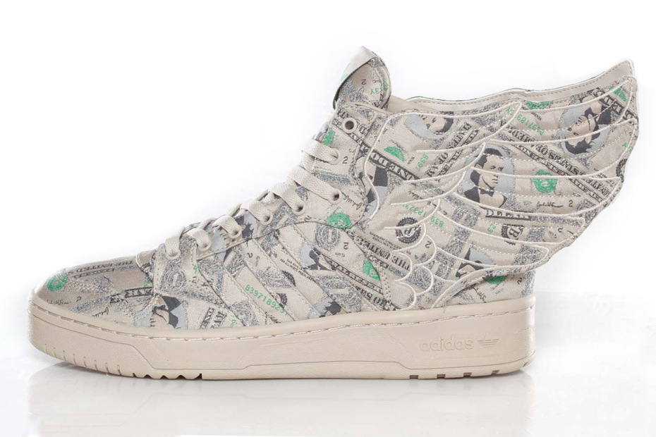 adidas js wings 2.0 money shoes