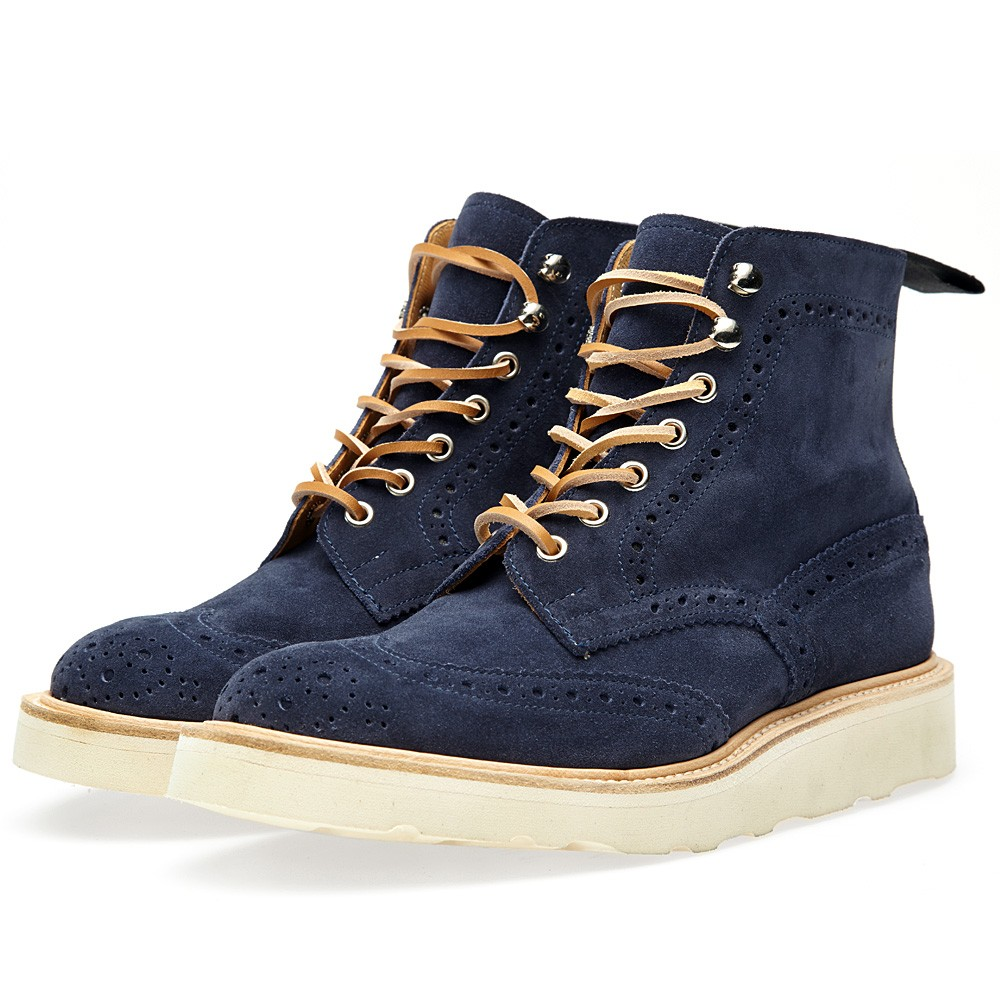 19 08 2013 endtrickers navy1 Trickers x End. City Pack Vibram Stow Boot