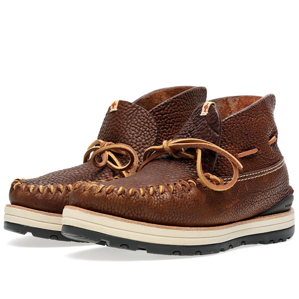 27 08 2013 visvim yuccamocmid brown1 Visvim Yukka Moc Boot Mid