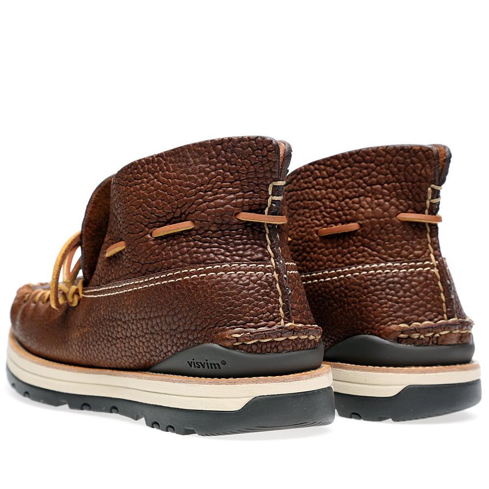 27 08 2013 visvim yuccamocmid brown2 Visvim Yukka Moc Boot Mid