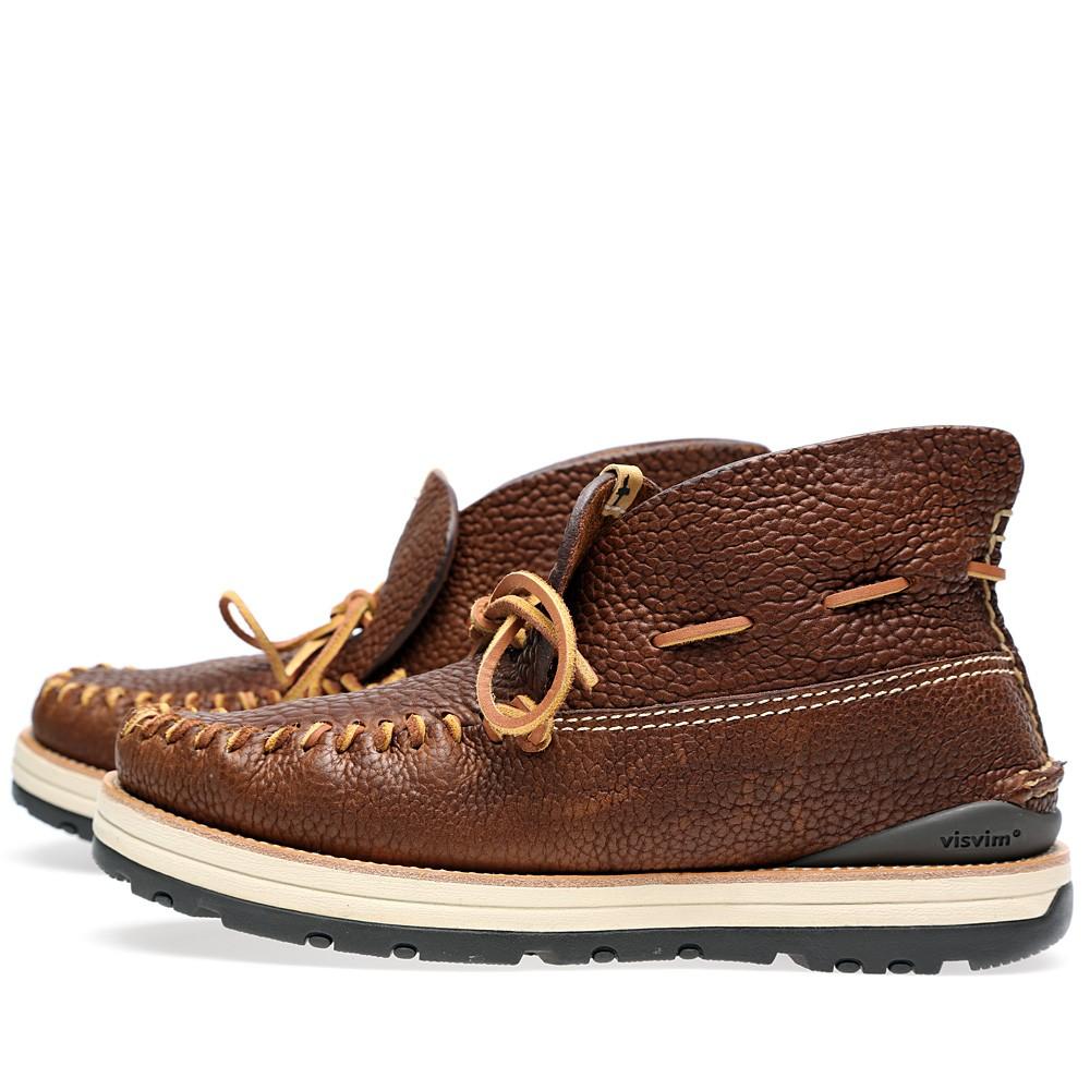 27 08 2013 visvim yuccamocmid brown3 Visvim Yukka Moc Boot Mid