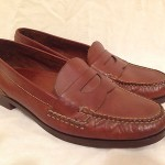 Mens Penny Loafers Cole Haan Drive Shoes Mocs Slip Ons Brown Size  11 M Leather